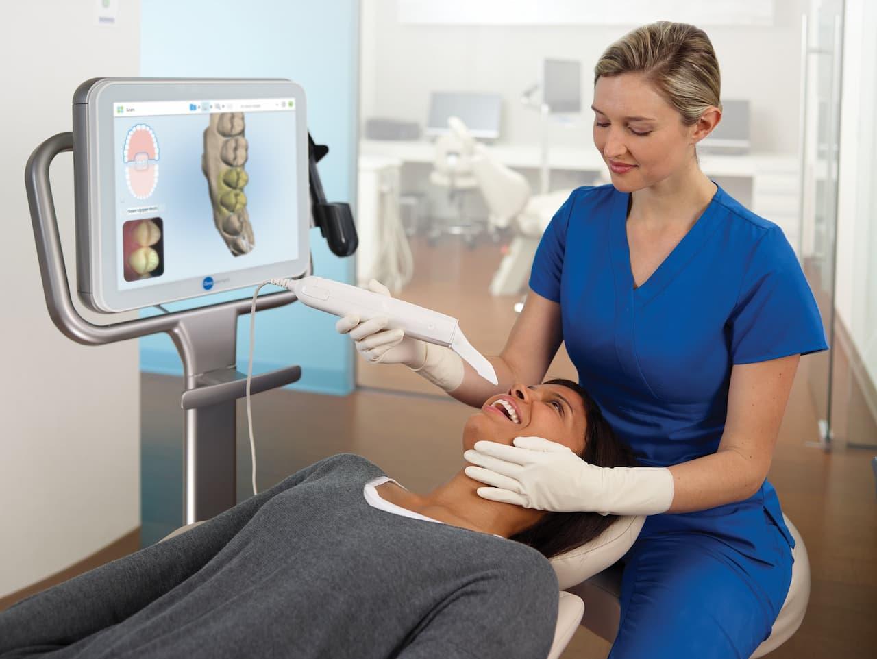 cyfrowy wycisk zębów